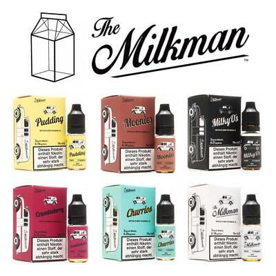 The Milkman - Premium E-Liquid 30ml für E-Zigaretten 3 x 10ml Nikotin 0/3/6 mg