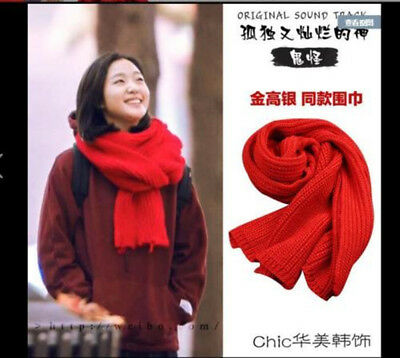 Goblin: The Lonely and Great God Korean Drama K-Drama Goblin Yoo In-Na Scarf Red