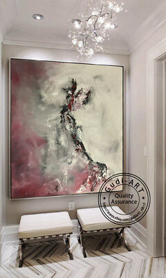 GUDI-Huge Fashion Hand Drawing Modern Abstract Oil Painting Home Deco Canvas Art