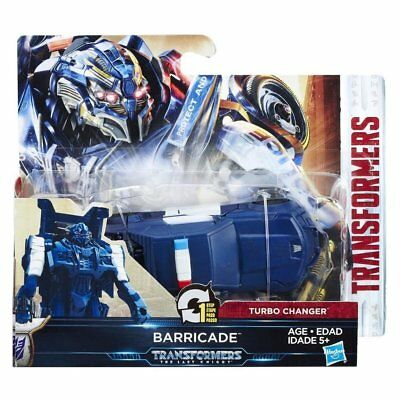 Transformers Turbo Charger Actionfigur: Barricade