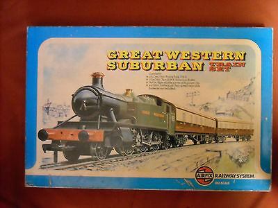 "Airfix Railway System  ""great Western Suburban Train Set"" Unused"
