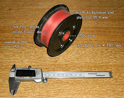 35mm film sprocket drive rollers & 65 tooth drive plates, sizes on pictures