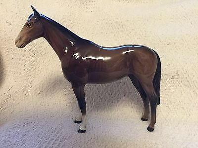 Beswick Horse 1557 - Queens Horse Imperial - Slight Ear Chip