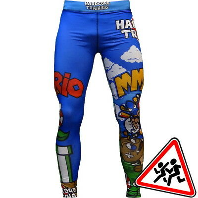 Kids Compression Pants Hardcore Training MMArio Spats MMA Fitness Training