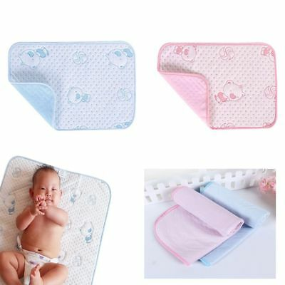 New Baby Infant Diaper Nappy Urine Mat Waterproof Bedding Changing Cover Pad