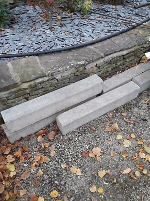 concrete shallow road kerbs , boarder raised bed curbs