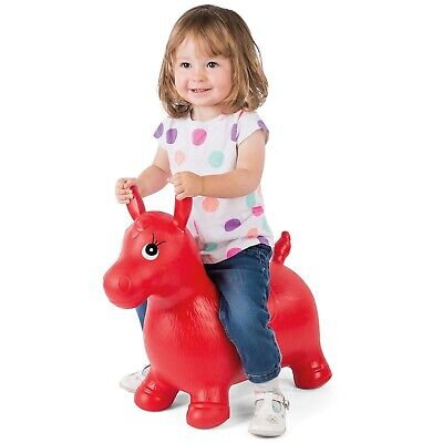 Kids' Bouncy Horse Hopper Inflatable Bouncer Toy Bouncing Animal Ride-On Toys