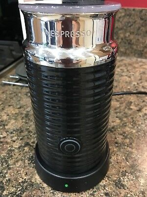 NESPRESSO AEROCCINNO 3 FROTHER (For Making Cappuccino/Latte)Excellent Condition