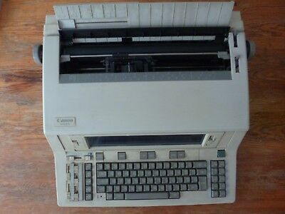 Canon Electronic Typewriter AP6300 with new ribbon and lift off tapes