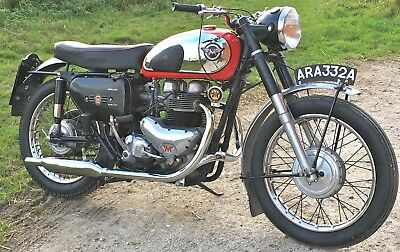 1961 Matchless G12CSR 650cc, lovely matching eng, frame example - NO RESERVE