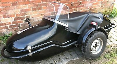Watsonian Monza sidecar as fitted to Triumph, BSA, Norton, Ariel, AJS, BMW
