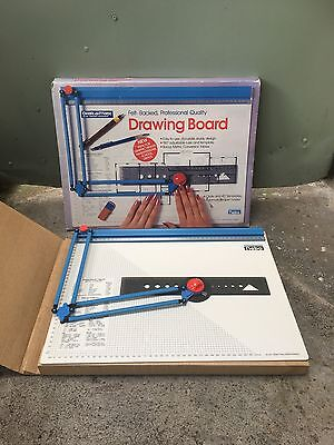 Vintage Nebo Draft O Matic Drawing Board With Original Box