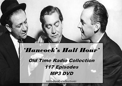 Hancock's Half Hour - Huge Collection - 117 Old Time Radio Shows Mp3 Dvd Comedy