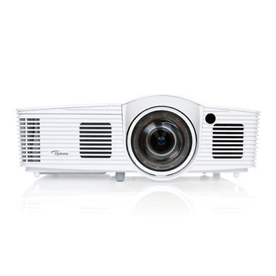 Optoma GT1080Darbee DLP Projector, Short Throw, FHD 1080p, 16ms Response, 3D Sup