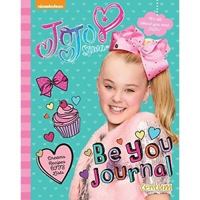 JoJo Siwa Be You Journal NEW Hardback Book Childrens Girls Gift Fashion 19114614