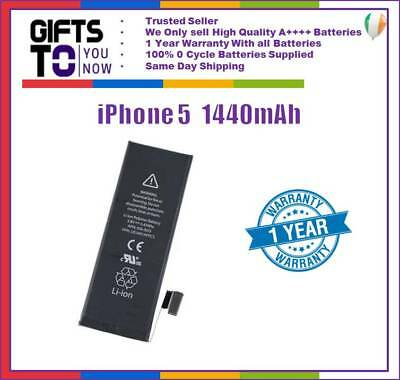 For iphone 5 Replacement Battery 1440mAh Genuine 0 Cycle High Quality battery
