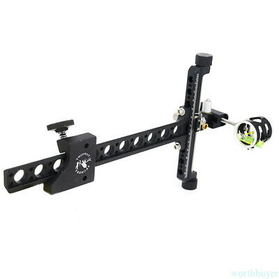 Archery Bow Sights Aluminum Compound Bow Aiming Shooting Accessories Adjust ID