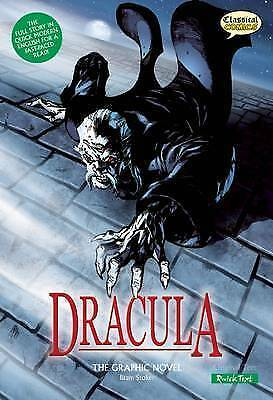 Dracula, Quick Text: The Graphic Novel by Bram Stoker (Paperback / softback, 201