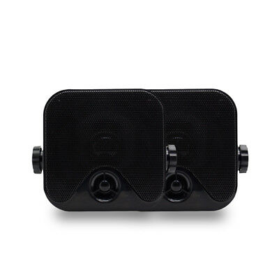 100W 4inch Heavy Duty Waterproof Motorcycle Car Speakers Marine Surface Mounted