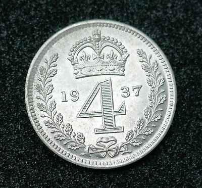 British - 1937  Proof issue  Maundy Four Pence