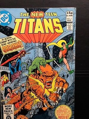 DC's THE NEW TEEN TITANS 5  #1981