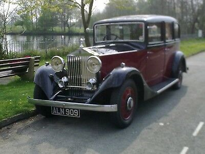 Rolls Royce 1933 - 20/25 Thrupp and Maberly Limousine  - Chassis Number GTZ41