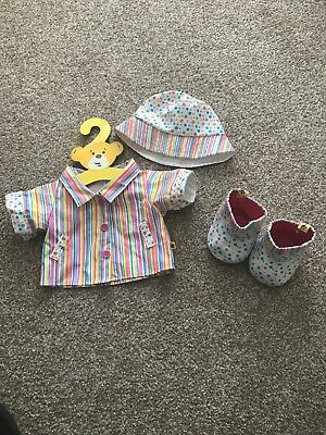 Build A Bear Raincoat/MAC With Rain Hat and Wellies