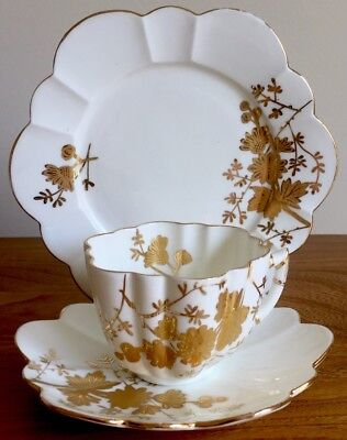 Foley Wileman Shelley Alexandra Trio Cup Plate Saucer