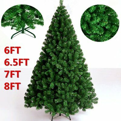 Christmas Tree Luxury New Traditional Forest Green Xmas Decorations-- 4 Style UK