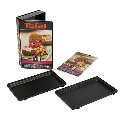 Tefal Snack Collection French Toast Plates Maker Non Stick w/ Recipe Book