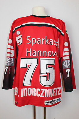 Hannover Scorpions DEL 2005/2006 Game Worn Jersey #75 Andy Morczinietz