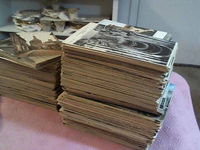 Estate Lot Of 600 + Pre 1940 Mostly Unposted Foreign / Intl Postcards Unsearched