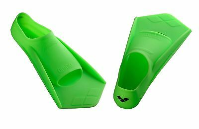 ARENA PowerFin Swimming Fins Perfomance Swim Flippers Acid_Lime/Black Long Life