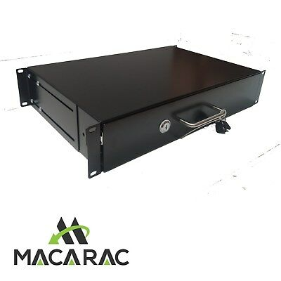 "2U Rack Mount Slide Drawer  (19"" Inch Rack-Mount Application)"