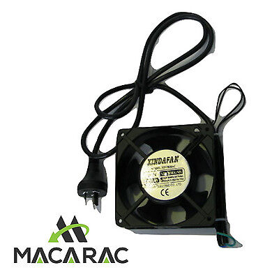 FAN / Incl. 240vAC LEAD AND PLUG (120mm X 38mm)