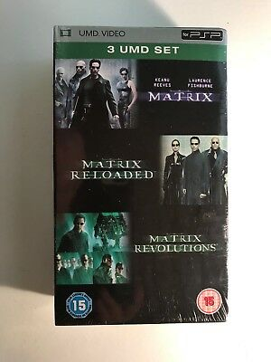 The Matrix Trilogy - 3 UMD set - Sony PSP