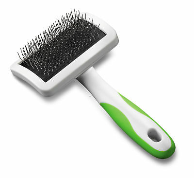 Andis Professional Firm Slicker Brush - Medium Grooming Tool