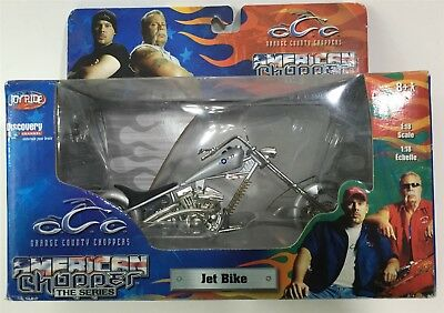 NEW American Orange County Choppers Jet Bike Motorcycle Diecast