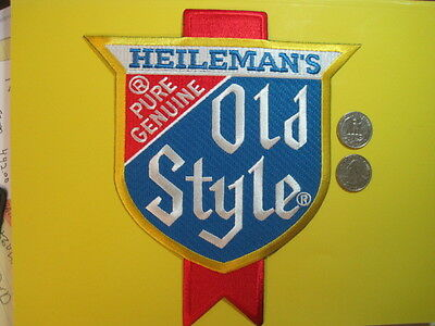 Beer Patch Old Style Heilemans Pure Genuine Large Back Size Look And Buy*