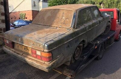 Volvo 240 GLE auto, Spares or Repairs, non runner, barn find, classic car