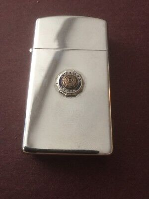 Vintage Slim 60s AMERICAN LEGION Raised Emblem Zippo Lighter