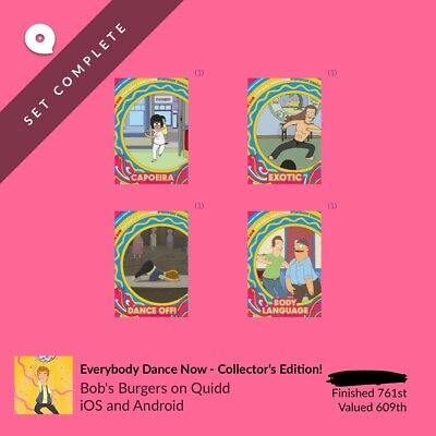 Quidd Bob's Burgers Everybody Dance Now - Collector's Edition