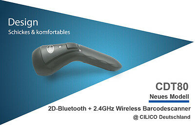 Original CILICO Barcodescanner 2D+1D, Bluetooth,WiFi, Android/iOS/Windows