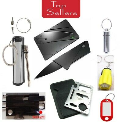 Credit Card Knives Lot folding wallet thin pocket survival tool Card Micro Knife