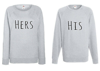 Pair Of Sweatshirts For Men & Women / His&Hers / His&His / Hers&Hers
