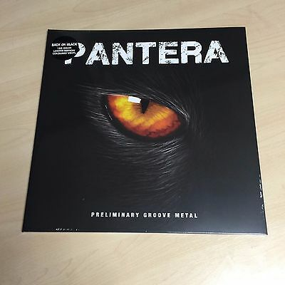 Pantera – Preliminary Groove Metal (VINYL) Brand new and sealed