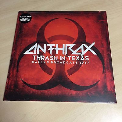 Anthrax – Thrash In Texas (VINYL) Brand new and sealed