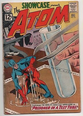 Showcase #36 (Jan-Feb 1962, DC) 3rd Appearance of the Atom!