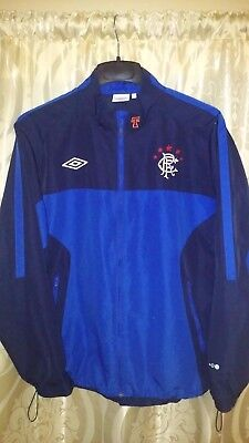 umbro GLASGOW RANGERS training JACKET - size L