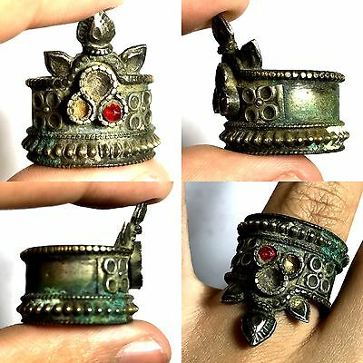 Lovely Ancient Crown Bronze Wonderful Ring